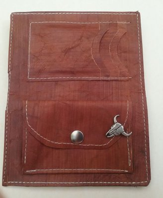 Porte-feuille en cuir